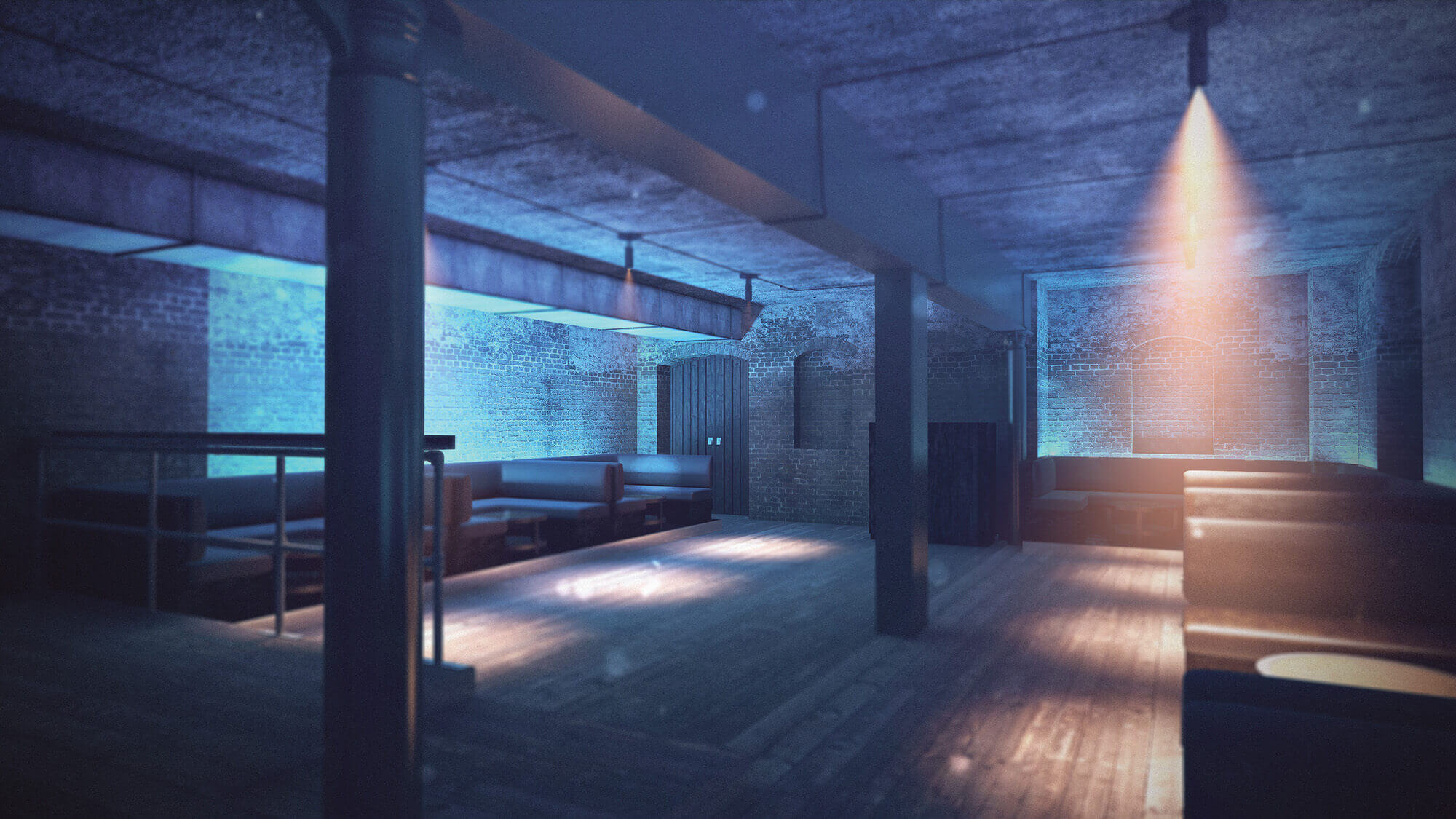 WHITE CROW STUDIOS - BLACK SPACE NIGHTCLUB CGI - CHIGCARGO