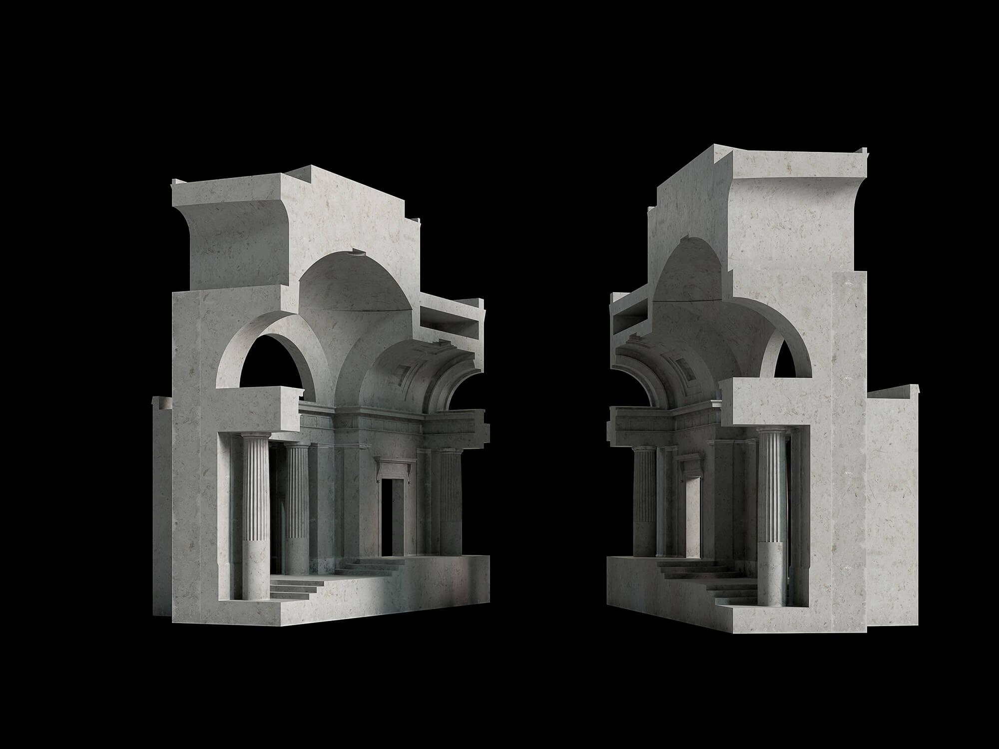WHITE CROW STUDIOS - SIR JOHN SOANE MUSEUM - PRODUCT CGI