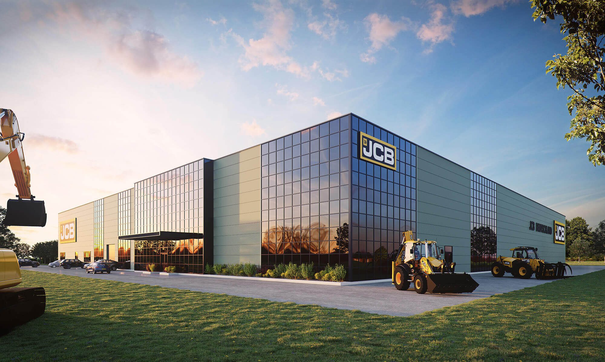 WHITE CROW STUDIOS - JCB-GERMANY - ARCHITECTURAL CGI