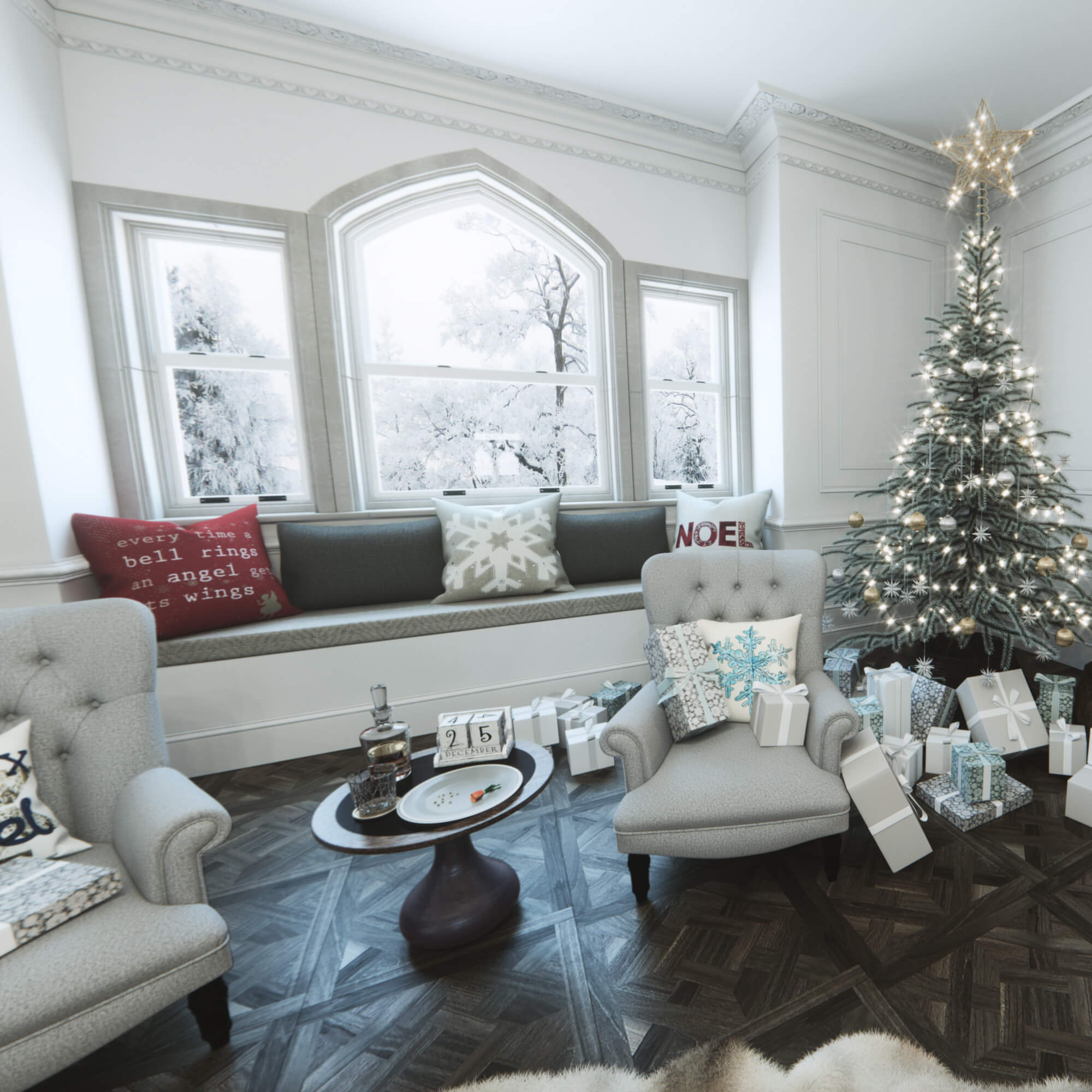WHITE CROW STUDIOS - CHRISTMAS - INTERACTIVE