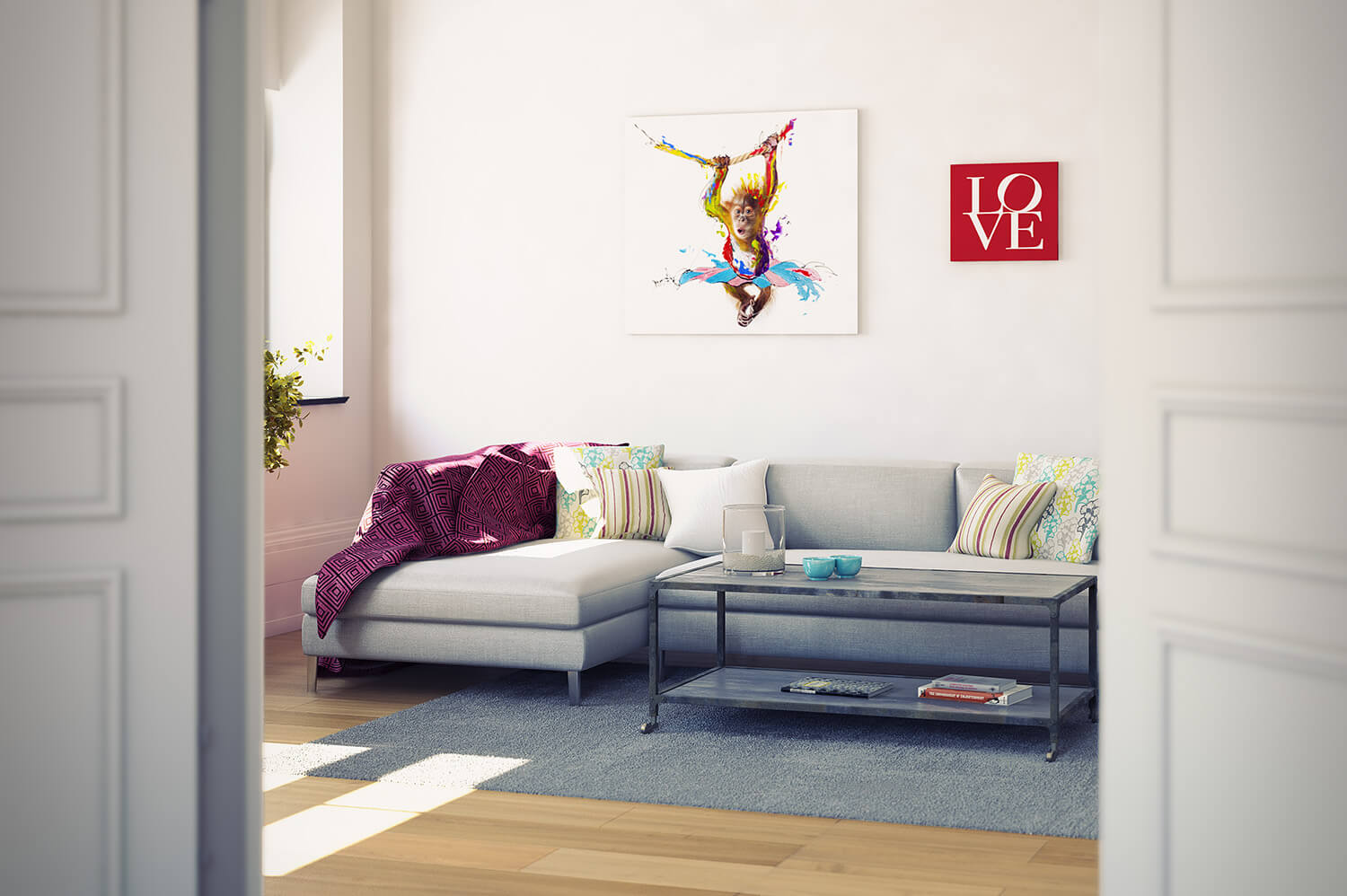 WHITE CROW STUDIOS - LEE LONGLANDS - LIVING ROOM CGI - RETAIL