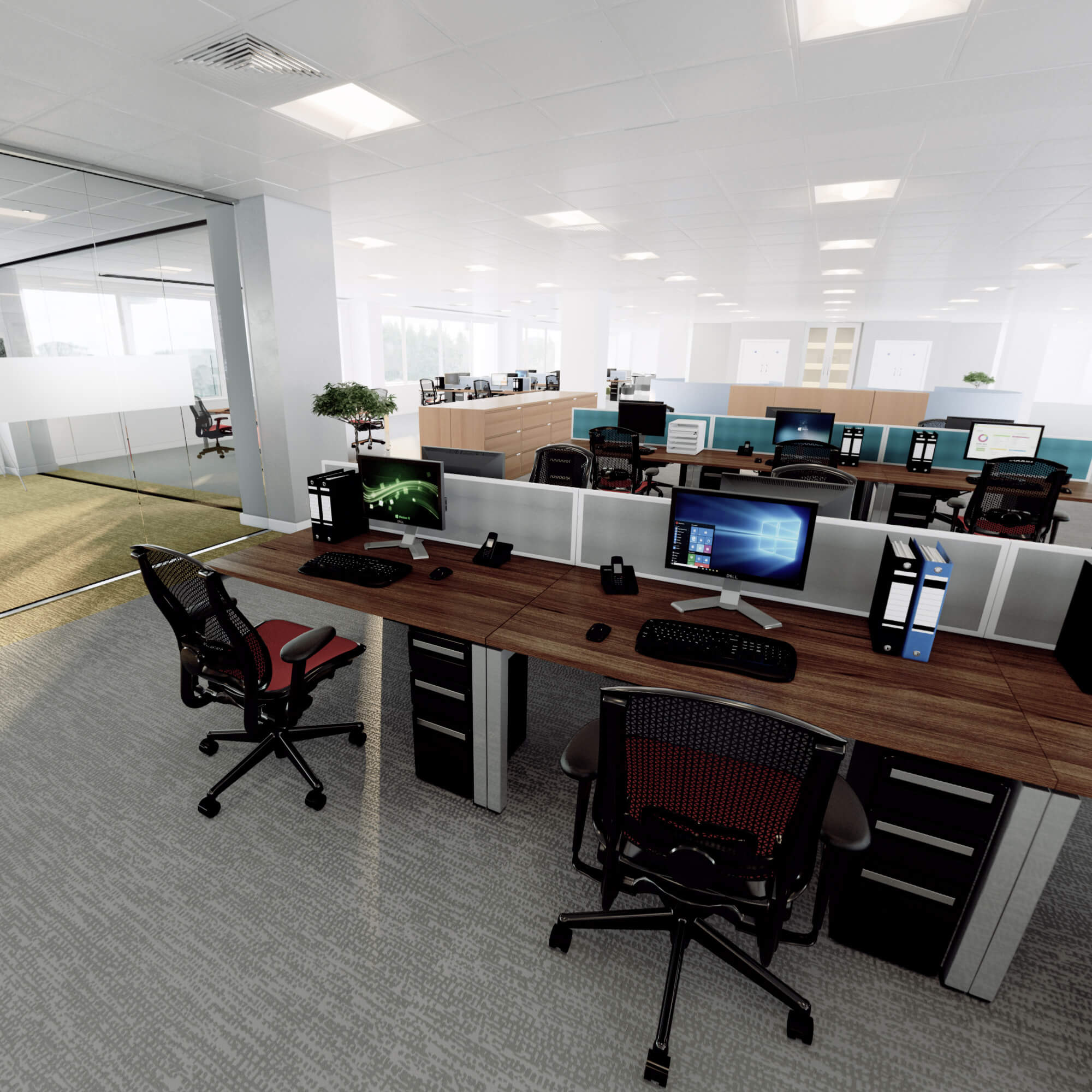 WHITE CROW STUDIOS - OFFICE REFIT INTERACTIVE