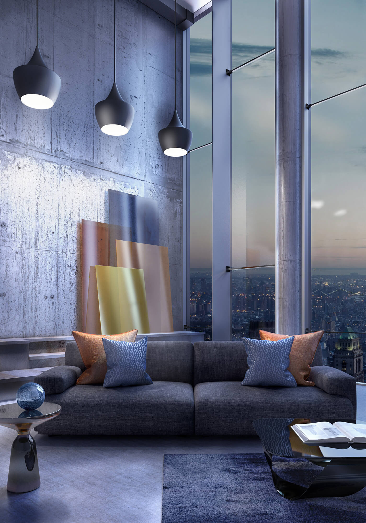 WHITE CROW STUDIOS - PENTHOUSE APARTMENT AT DUSK