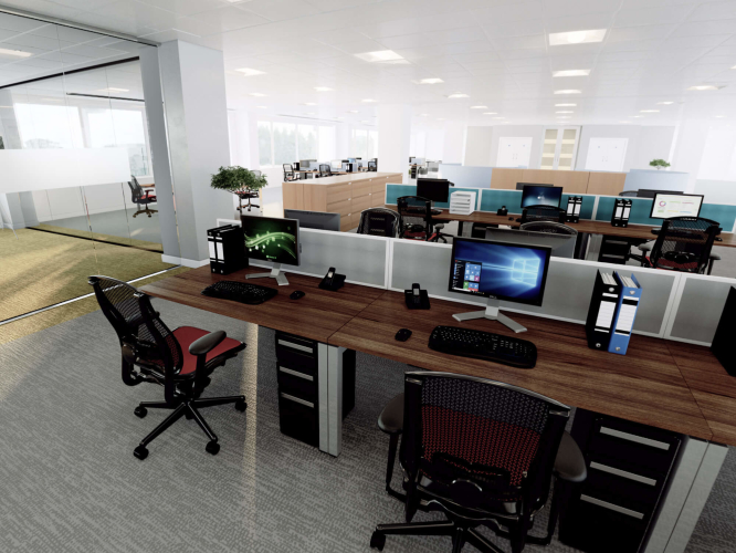 OFFICE REFIT INTERACTIVE