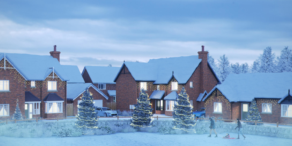 Cameron Homes Bomere Christmas Image